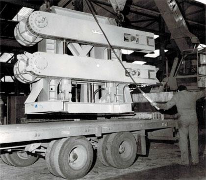 1ere machine dédiée à l'équipement offshore