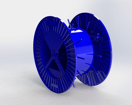 bobine multiway bleu SA Joly